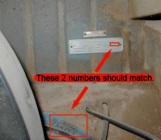 how to read australian volkswagen chassis number